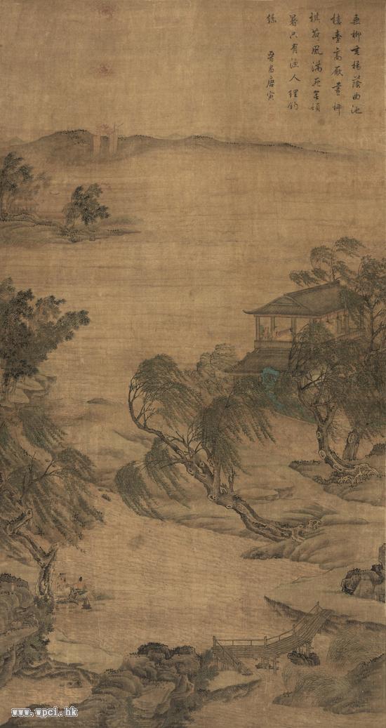 唐寅(1470-1524)湖山论道图2